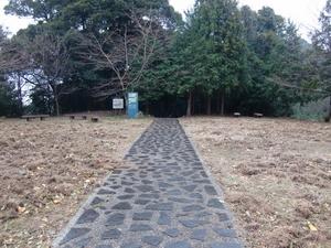 鹿ケ瀬峠・大峠(頂上)