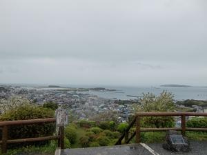 城山公園・展望台からの眺め