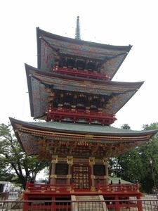 成田山・三重塔