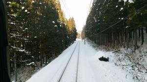 進行方向,雪原