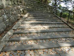 東照宮への石段