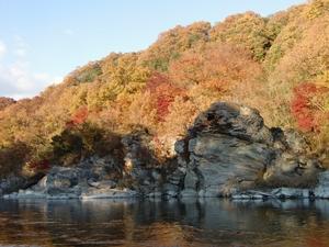 長瀞沿岸風景