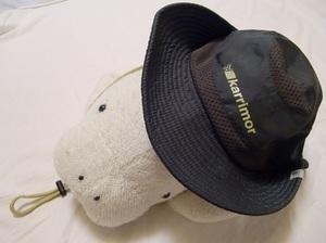 UVカット効果大の帽子