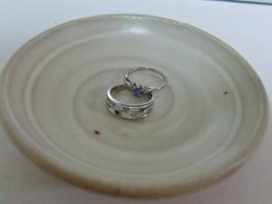返ってきた指輪たち