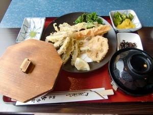 わかさぎの天ぷら定食