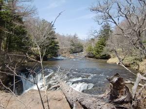 竜頭の滝・上流