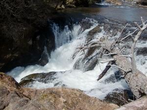 水の落ちる場所