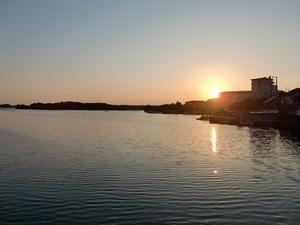 賢島の夕日
